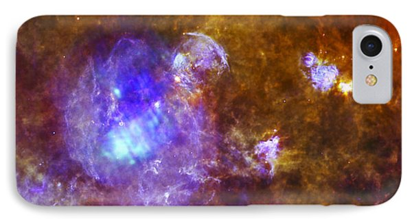 Life And Death In A Star-forming Cloud IPhone Case by Adam Romanowicz
