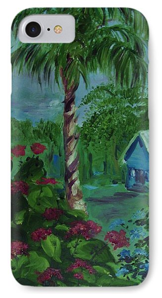 IPhone Case featuring the painting   Life's  Way by Beth Arroyo