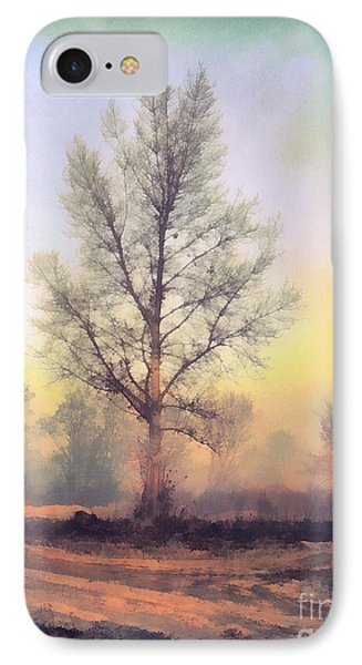 Lonely Tree IPhone Case by Odon Czintos