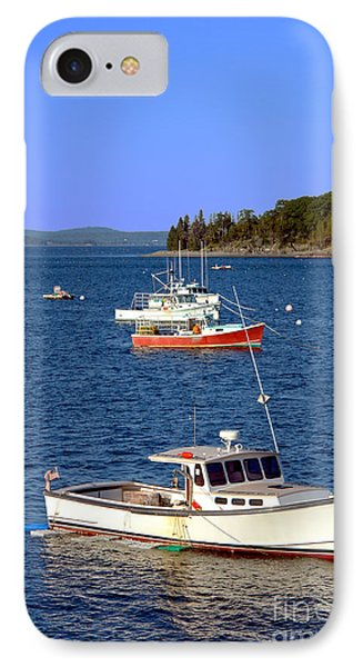 Maine Lobster Boat IPhone Case