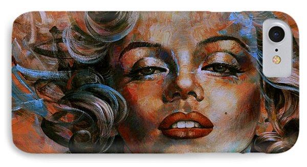 Marilyn Monroe IPhone Case by Arthur Braginsky