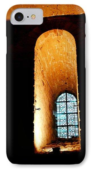 IPhone Case featuring the photograph  Meditation - Deep Window Mont St Michel by Jacqueline M Lewis