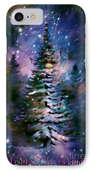 Merry Christmas Phone Case by Andrzej Szczerski