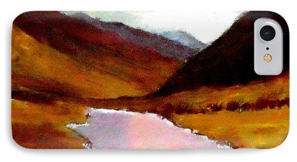 Mountain Landscape Phone Case by Mauro Beniamino Muggianu