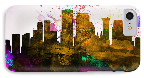 New Orleans City Skyline IPhone Case
