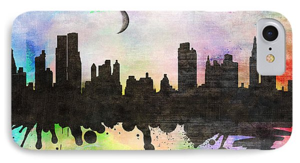 New York 6 IPhone Case by Mark Ashkenazi