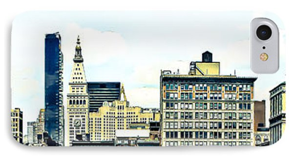 New York City Phone Case by Ken Marsh