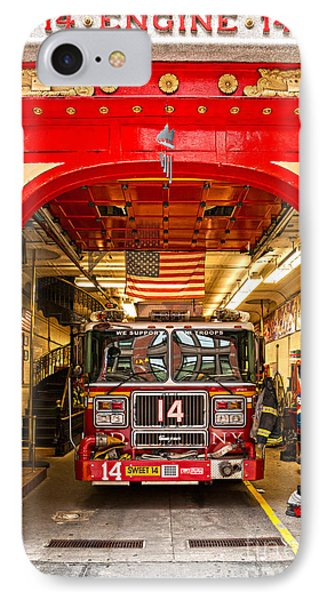New York Fire Department Engine 14 IPhone Case