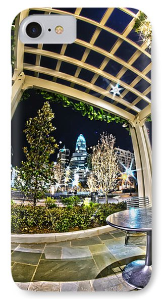 Nightlife Around Charlotte IPhone Case by Alex Grichenko