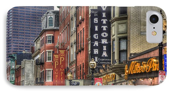 North End Charm - Boston IPhone Case by Joann Vitali