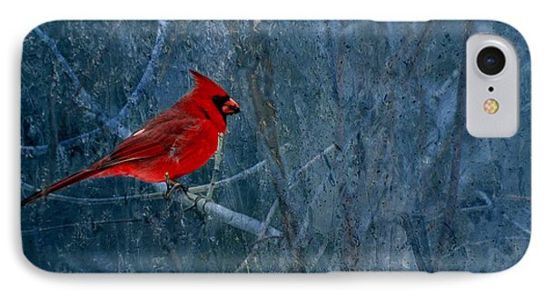 Northern Cardinal IPhone 7 Case by Thomas Young