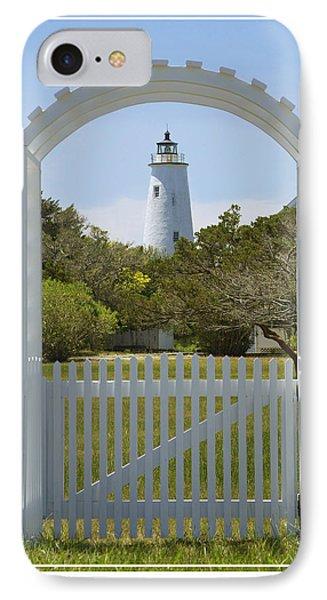 Ocracoke Island Lighthouse Phone Case by Mike McGlothlen