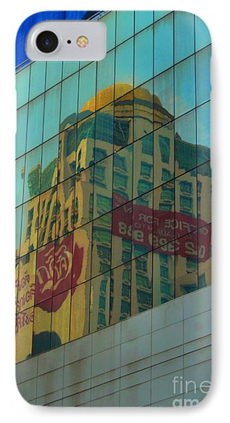 IPhone Case featuring the photograph  Office For Sale by Michelle Meenawong