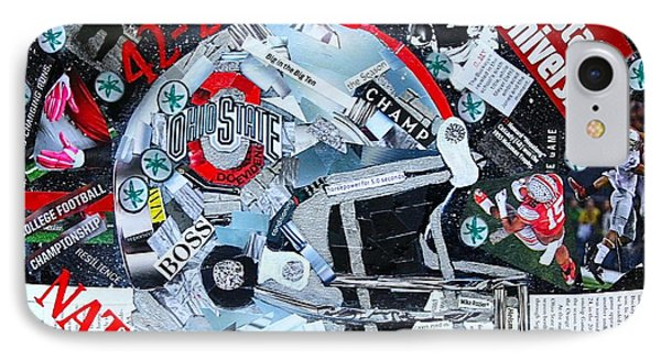 Ohio State University National Football Champs IPhone Case
