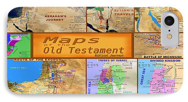 Old Testament Maps IPhone Case
