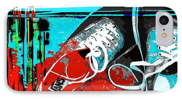 IPhone Case featuring the photograph  Old Van's by Everette McMahan jr