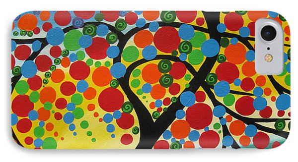 Orb Tree  IPhone Case by Cathy Jacobs