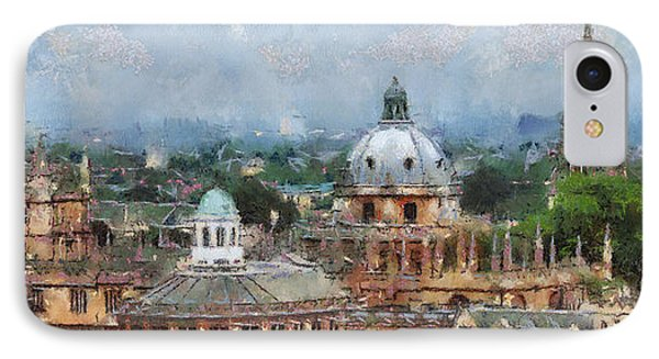 Oxford Panorama IPhone Case by Georgi Dimitrov