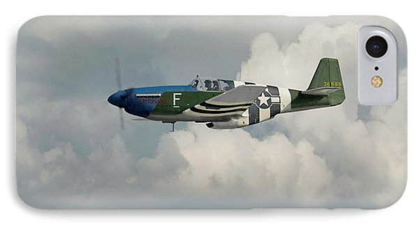 P51 Mustang Gallery - No1 Phone Case by Pat Speirs
