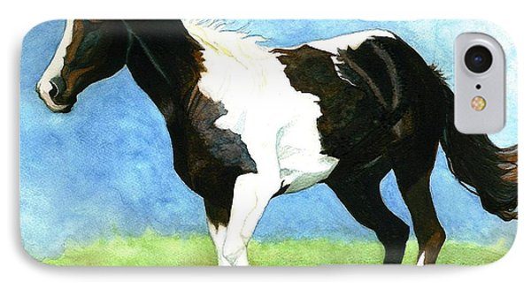 Painted Horse Phone Case by Janine Riley
