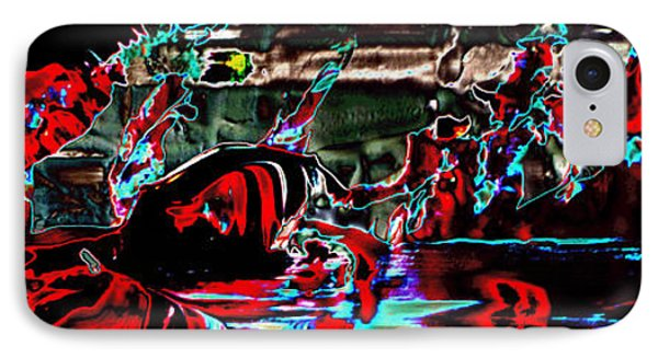 Paraphilia For Blood Part One IPhone Case by Sir Josef - Social Critic - ART