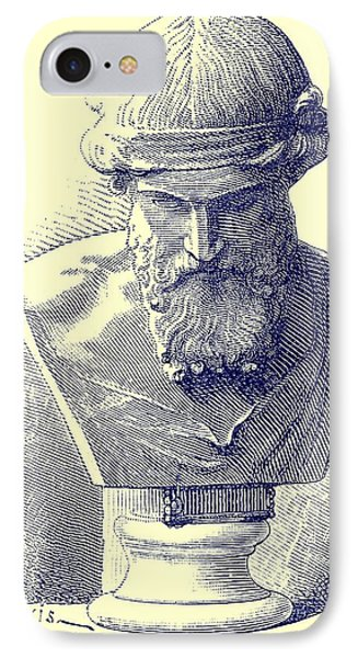 Plato IPhone Case by Chapuis