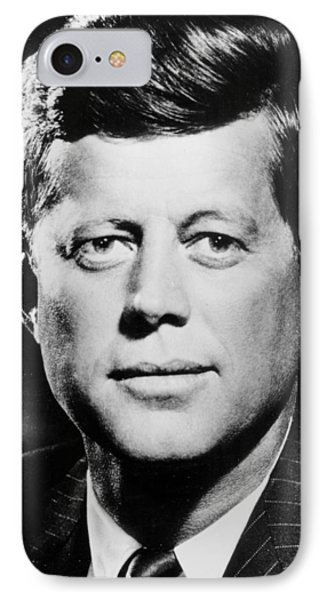 Portrait Of John F. Kennedy  Phone Case by American Photographer