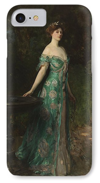 Portrait Of Millicent Leveson-gower - Duchess Of Sutherland IPhone Case