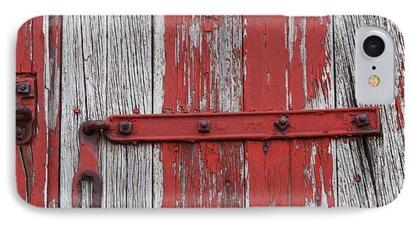 Railroad Car Door IPhone Case by Elvira Butler