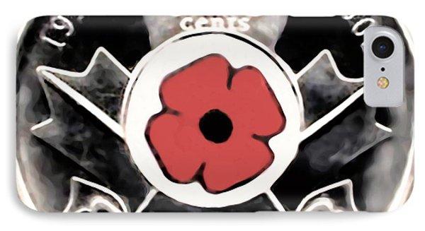 Remember Armistice Jour Du Souvenir  IPhone Case