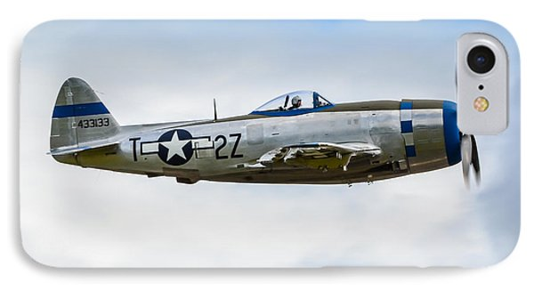 Republic P-47d Thunderbolt IPhone Case by Puget  Exposure