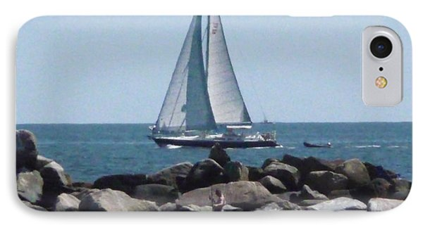IPhone Case featuring the photograph  Rhode Island Coastline by Margie Avellino