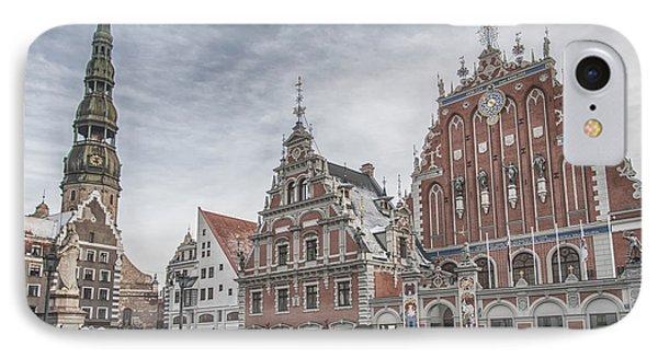 Riga The House Of Blackheads IPhone Case by Antony McAulay