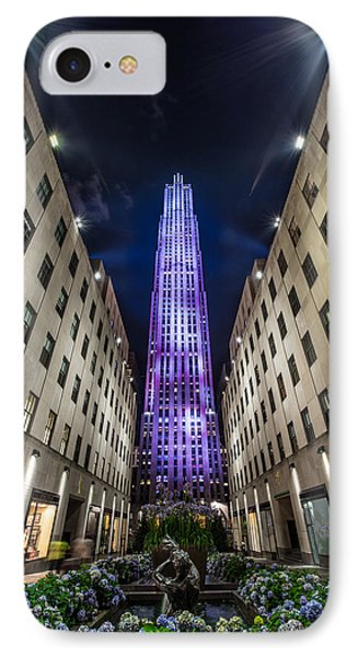 Rockefeller Center - New York - New York - Usa 3 IPhone Case