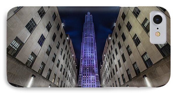 Rockefeller Center - New York - New York - Usa 4 IPhone Case by Larry Marshall