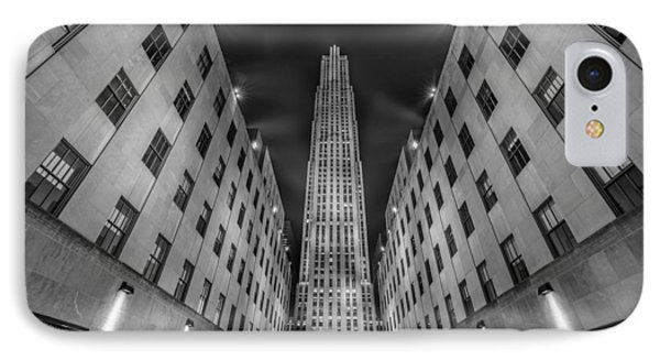 Rockefeller Center - New York - Usa 2 IPhone Case