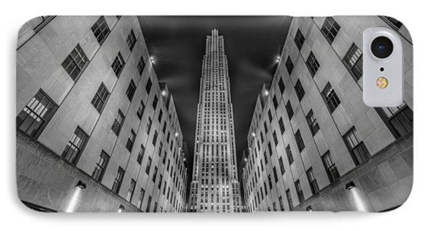 Rockefeller Center - New York - Usa 2 IPhone Case by Larry Marshall