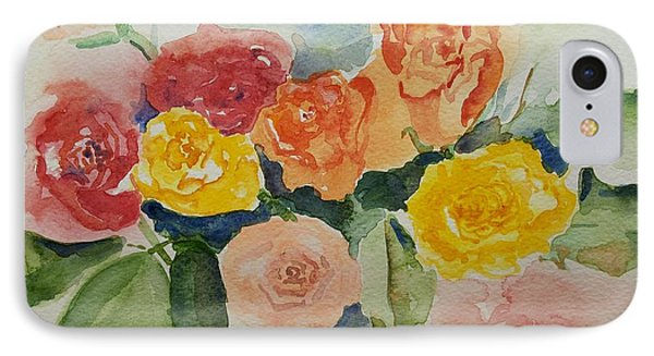 Roses For You Still Life IPhone Case by Geeta Biswas