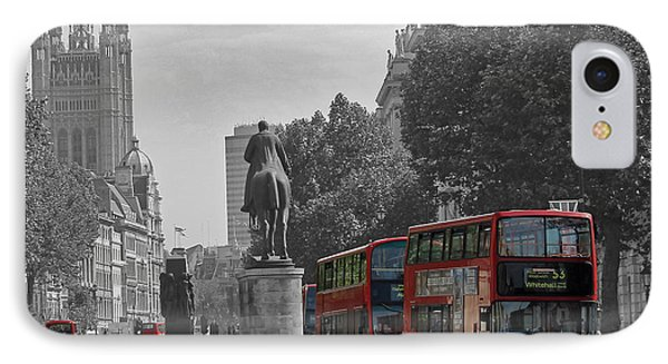 Routemaster London Buses IPhone Case by Tony Murtagh