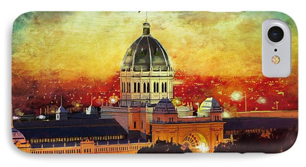 Royal Exhibition Building IPhone Case by Catf