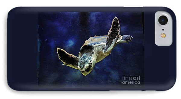 IPhone Case featuring the photograph  Sea Turtle by Savannah Gibbs