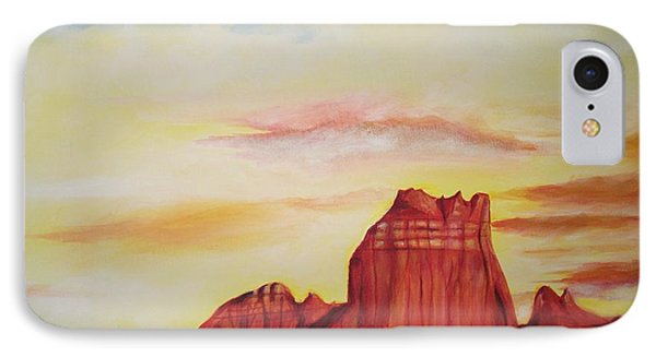 IPhone Case featuring the painting  Sedona Az by Eric  Schiabor