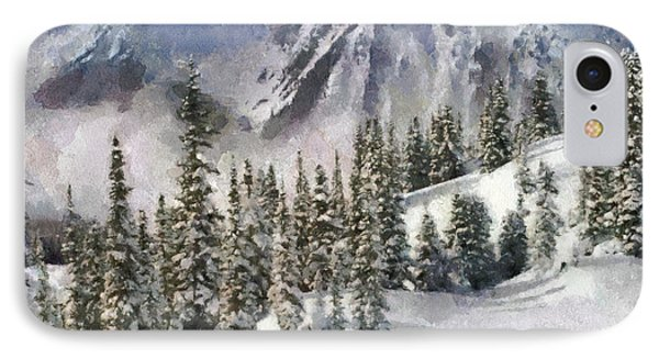 Snow In The Mountains Phone Case by Georgi Dimitrov