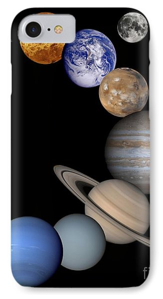 Solar System Montage IPhone Case by Anonymous