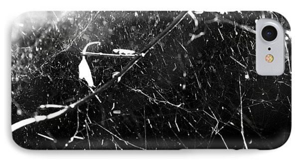 IPhone Case featuring the photograph  Spidernet by Yulia Kazansky