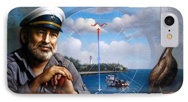 St. Simons Island Sea Captain 5 IPhone Case