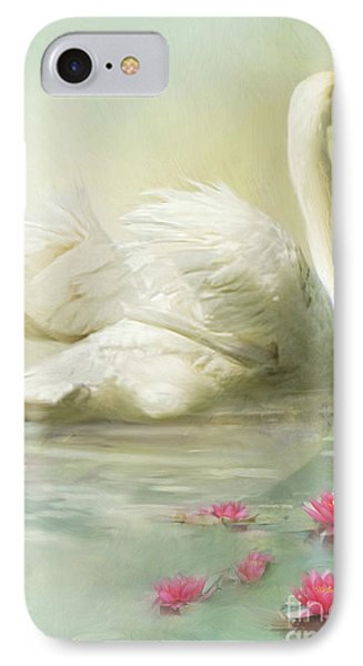 Swan Song IPhone Case by Trudi Simmonds