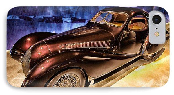 IPhone Case featuring the photograph  Talbot Lago 1937 Car Automobile Hdr Vehicle  by Paul Fearn