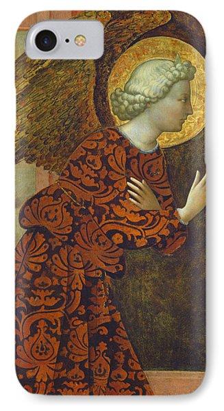 The Archangel Gabriel Phone Case by Tommaso Masolino da Panicale