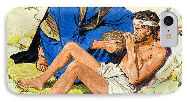 The Good Samaritan  Phone Case by Clive Uptton